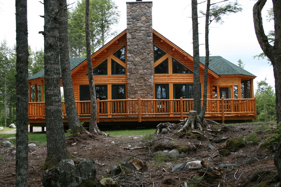 Cathance Shores: Spectacular lakeshore real estate in Downeast Maine